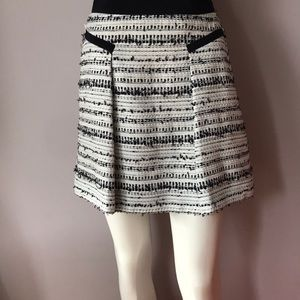 Rebecca Taylor A-Line Knit Mini Skirt